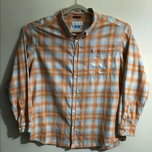Columbia plaid button down. XXL